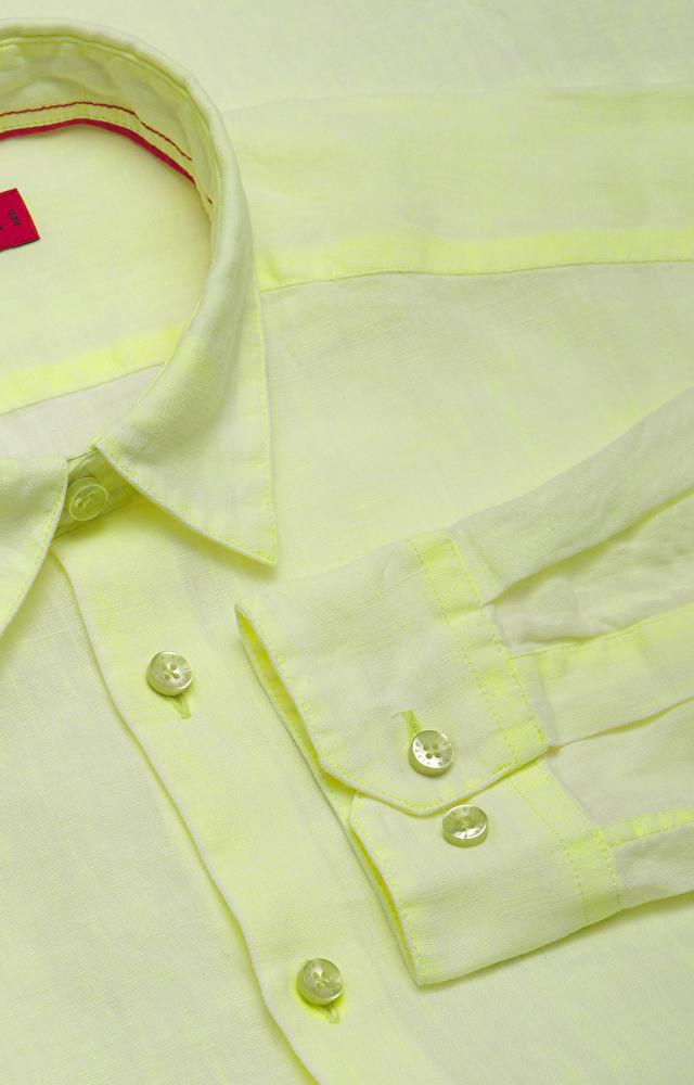 Dopasowana koszula, kołnierz kryty button down