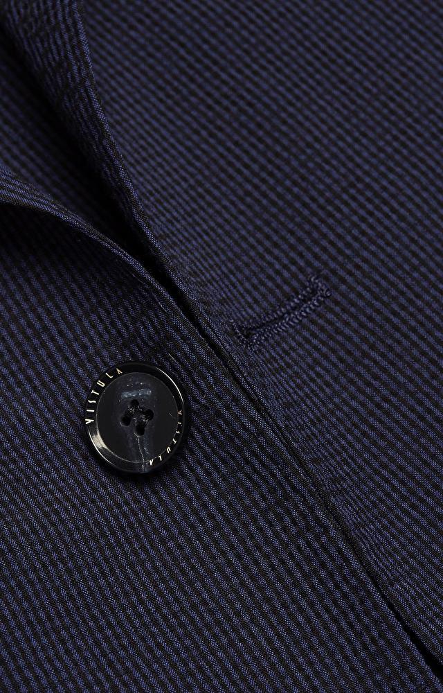 Dopasowany garnitur bawełniany