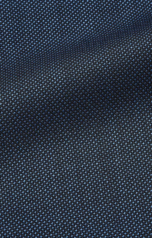 Garnitur szerszym kroju z wełny w mikrowzór