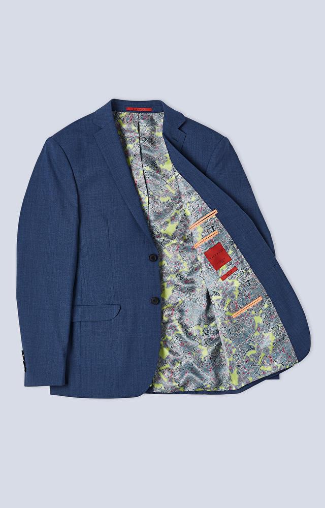 Dopasowany garnitur z dodatkiem elastanu