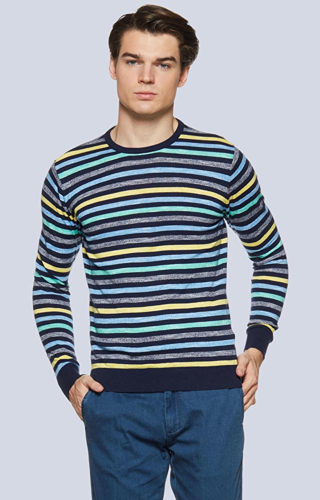 Lekki sweter w paski