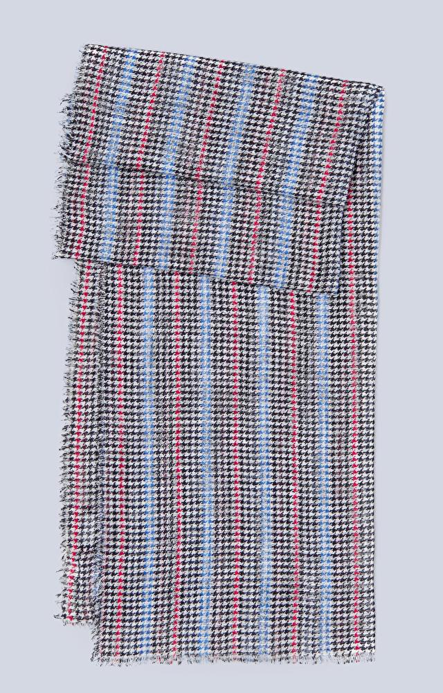 Letni szal z bawełny