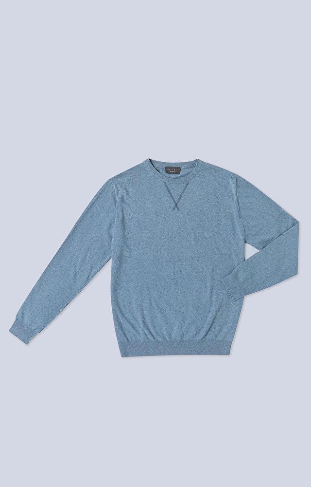 Lekki sweter z ekologicznej przędzy