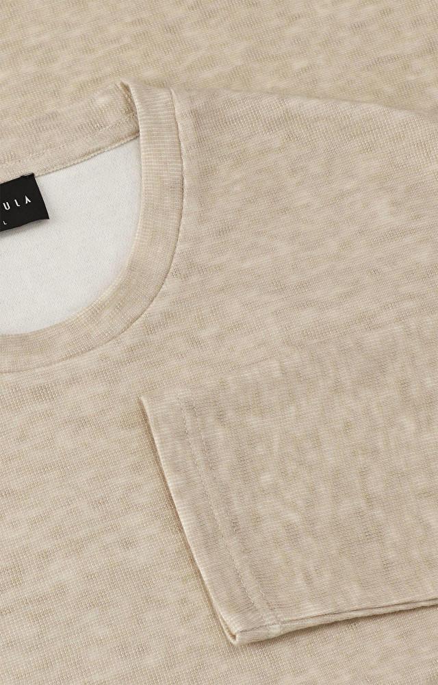 Lekka bluza typu round-neck