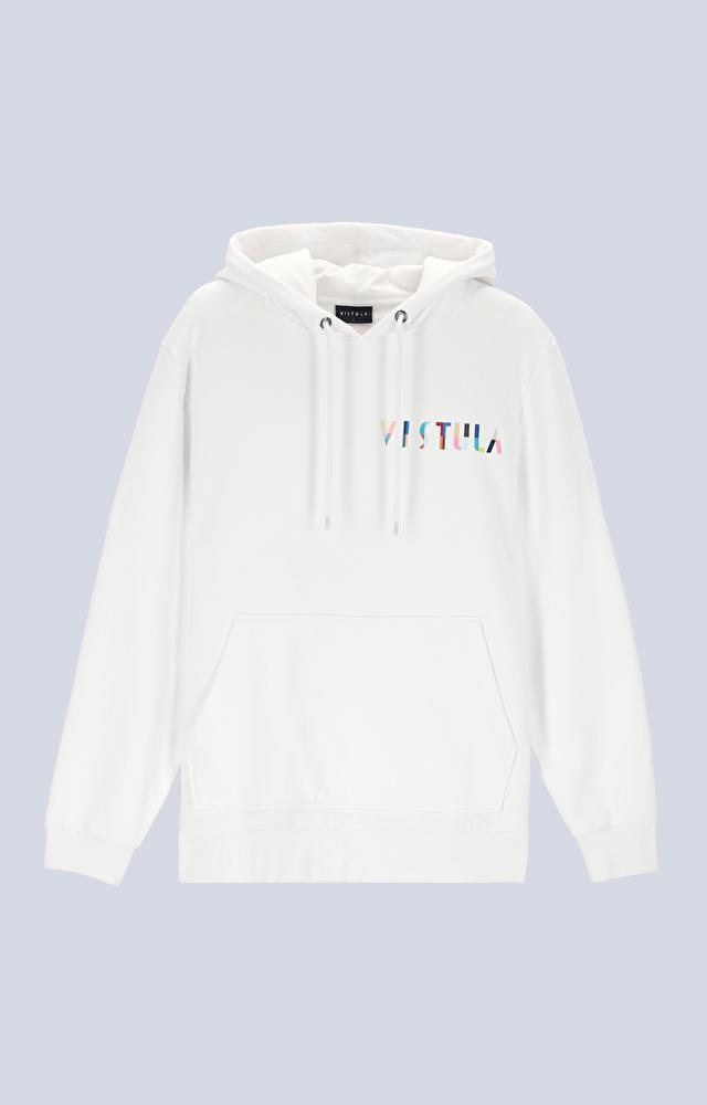 Bluza z monogramem na piersi