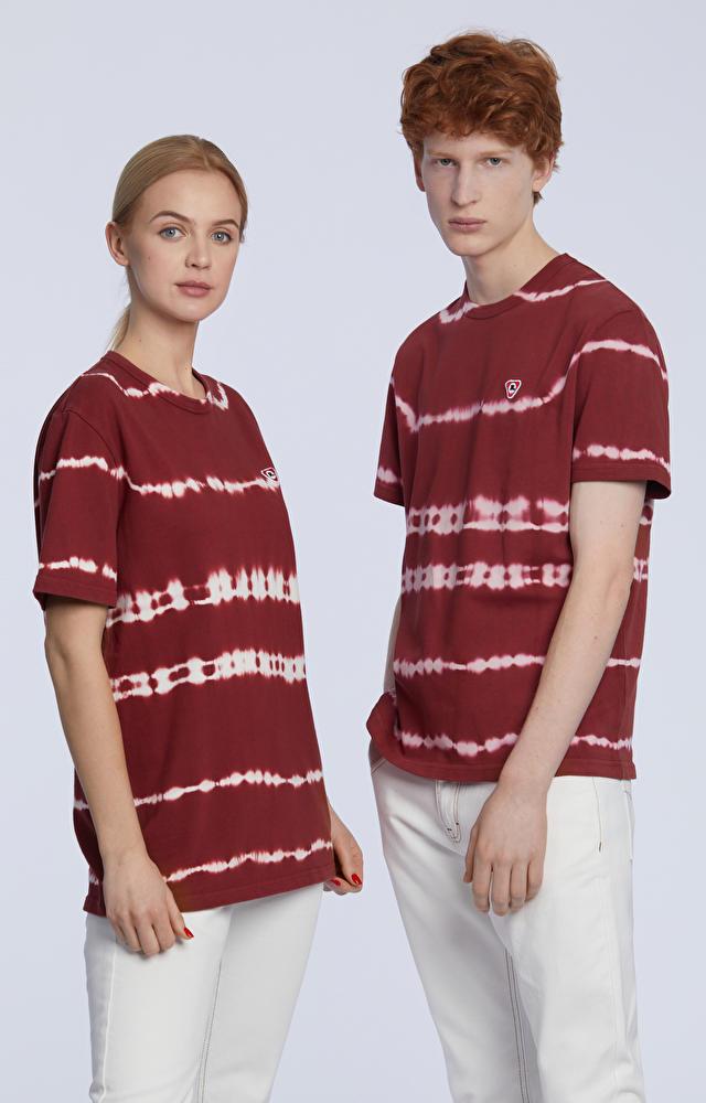 T-shirt farbowany ręcznie