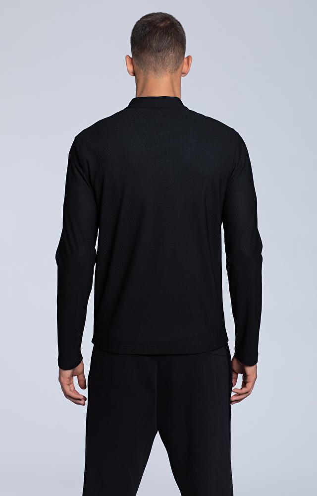 Rozpinana, sportowa bluza ze stójką