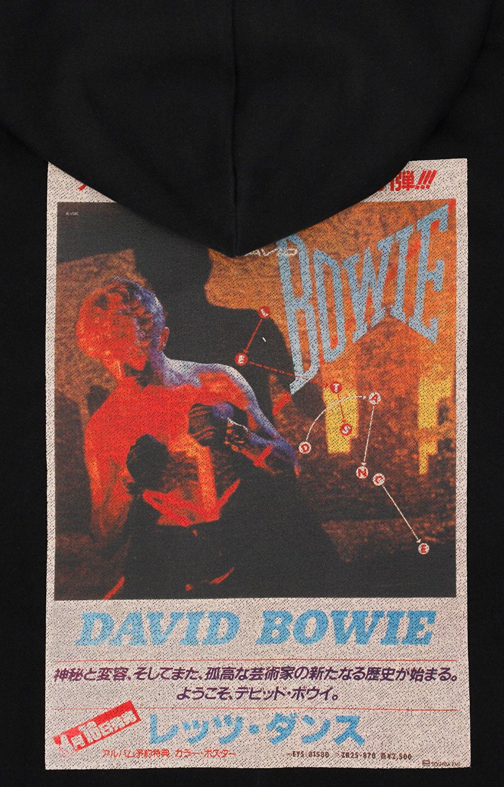 Bluza z nadrukiem David Bowie