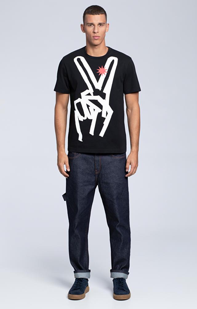 T-shirt z motywem graficznym