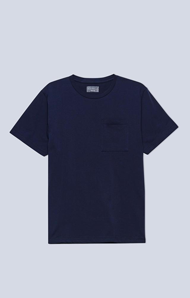 T-shirt z bawełny organicznej, z kieszonką