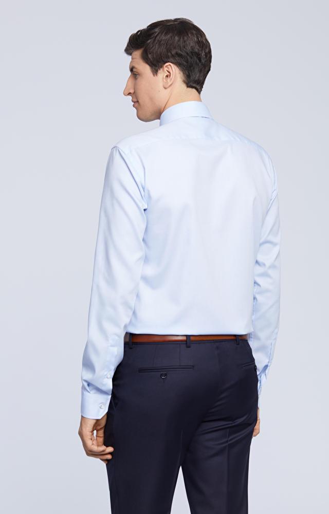 Elegancka koszula w mikrowzór
