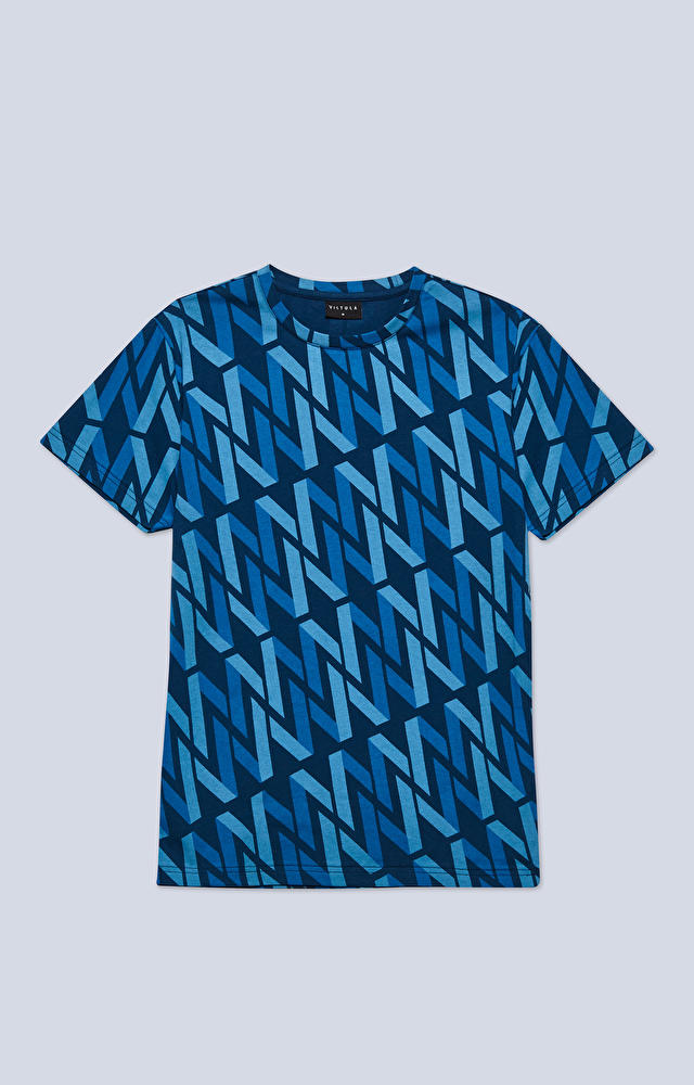 T-shirt z monogramem