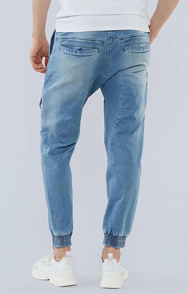 Jeansy ze ściągaczem