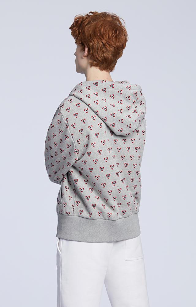 Bawełniana bluza z logo