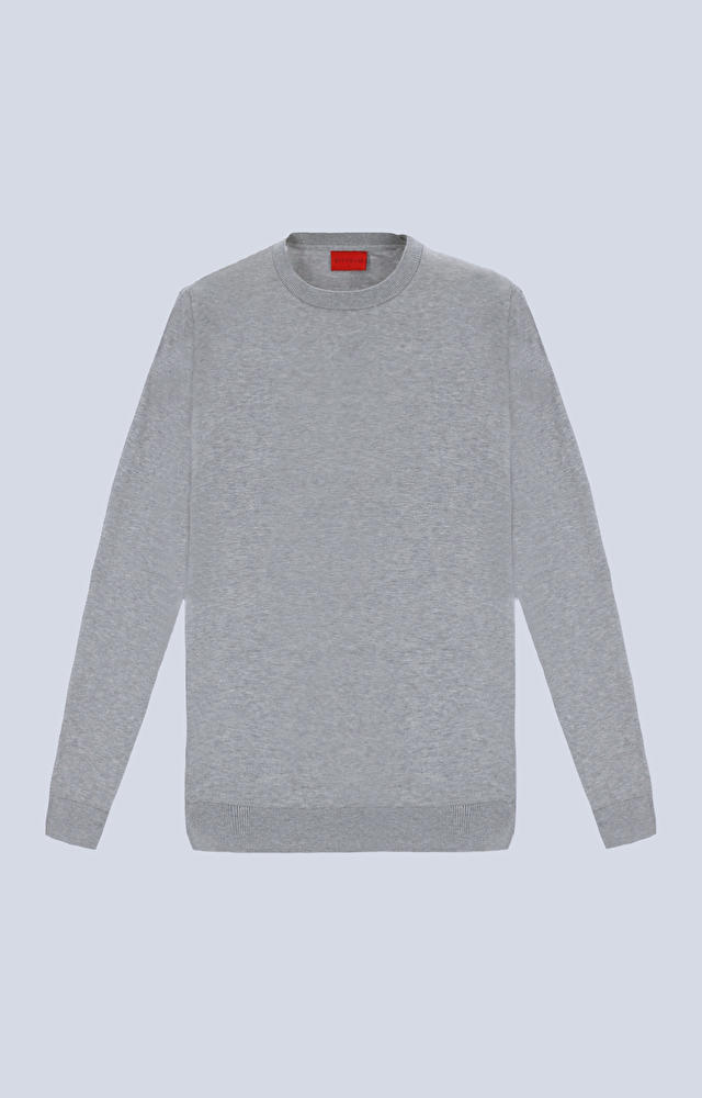 Lekki sweter typu round-neck