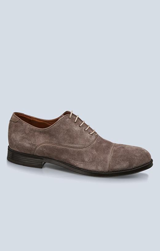 Zamszowe buty typu oxford