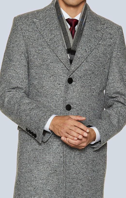 Płaszcz z wełny casentino