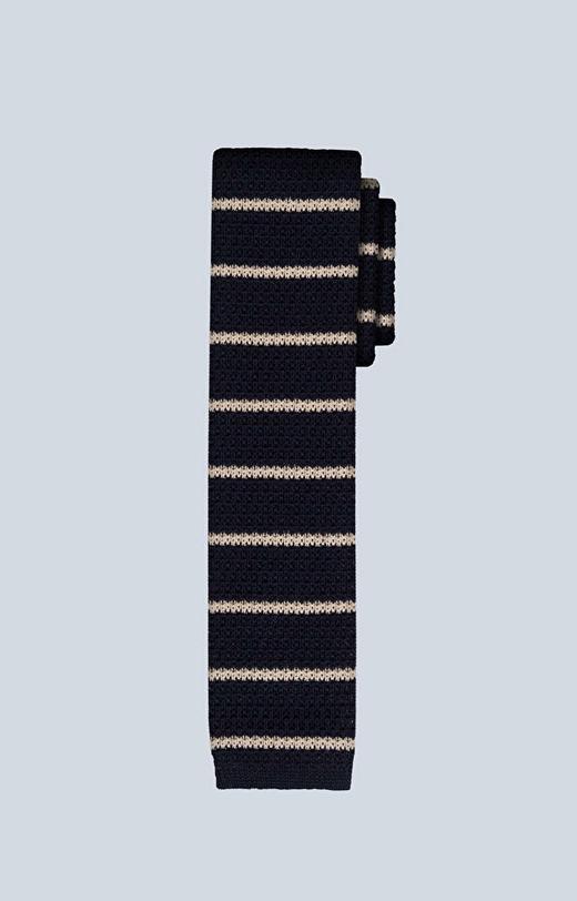 Bawełniany krawat w paski