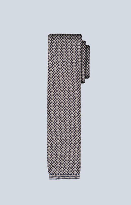 Bawełniany krawat w mikrowzór