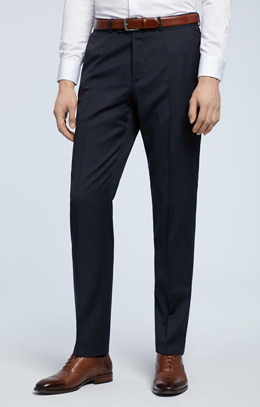 Klasyczne spodnie od garnituru