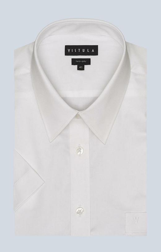 Swobodna koszula, kołnierz kryty button-down