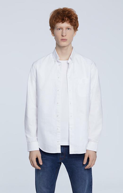 Luźna koszula zapinana na guziki