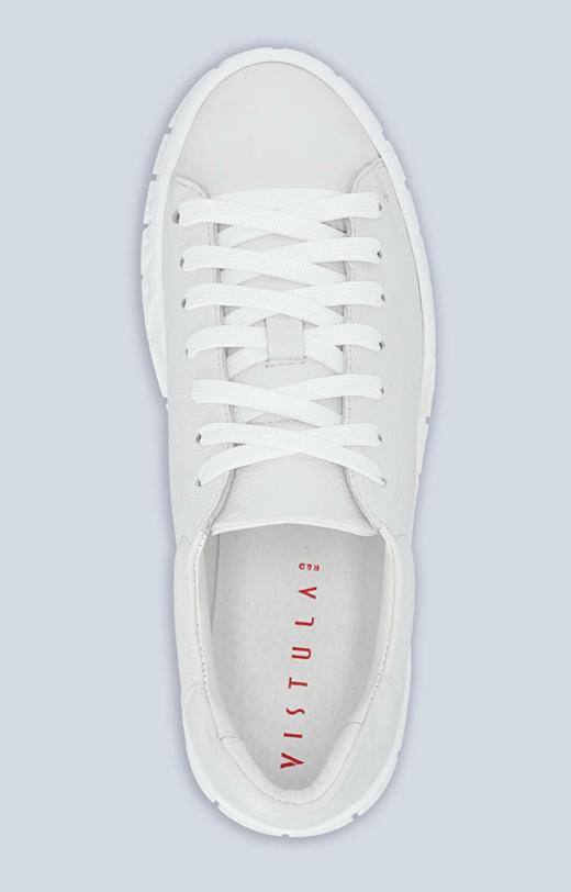 Skórzane sneakersy damskie