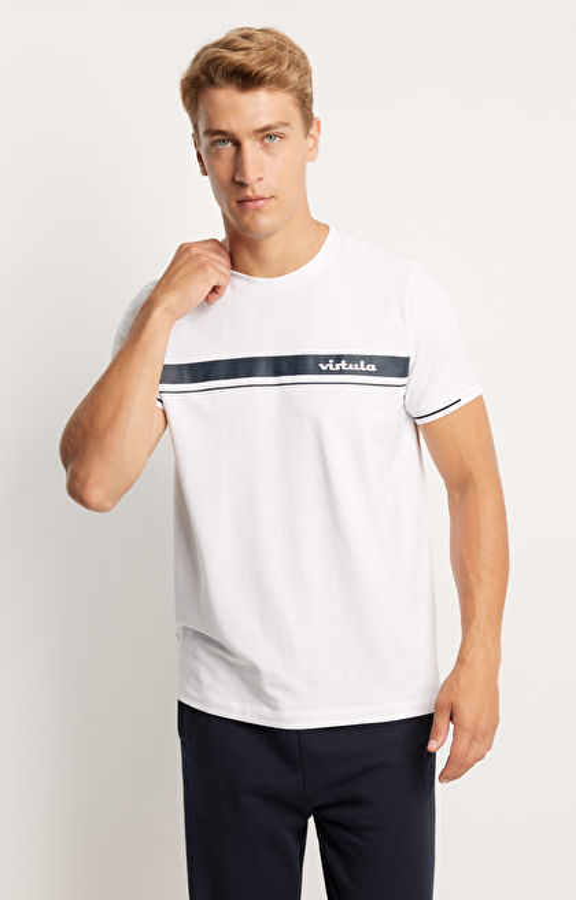 Sportowy t-shirt z logo Vistula Retro