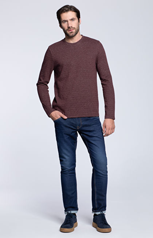 Bluza typu round-neck