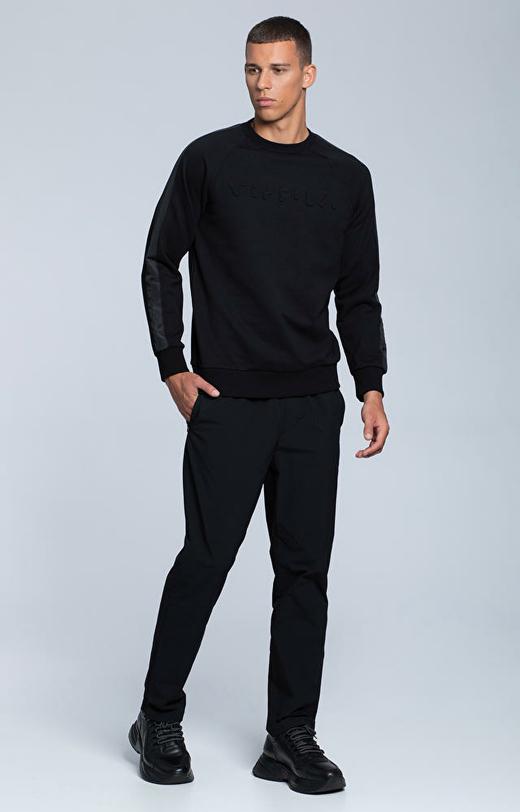 Sportowa bluza z bawełny pima z logo