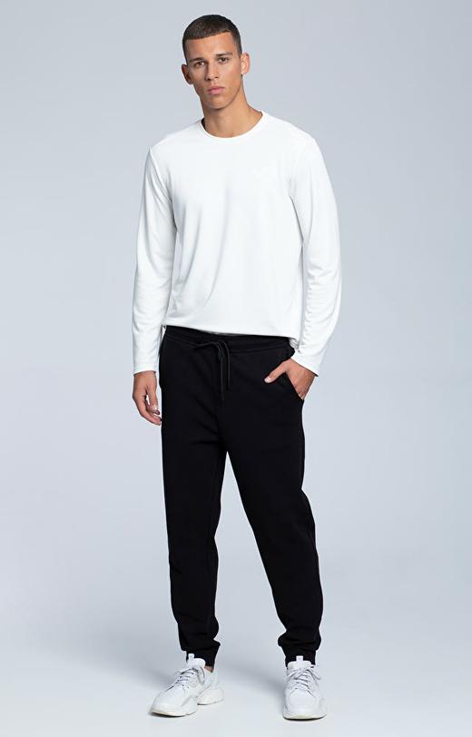 Spodnie dresowe z bawełny pima
