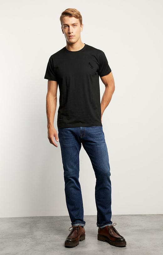 T-shirt z bawełny Pima
