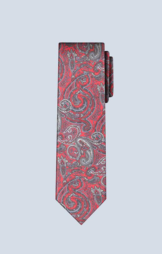 Jedwabny krawat we wzór paisley