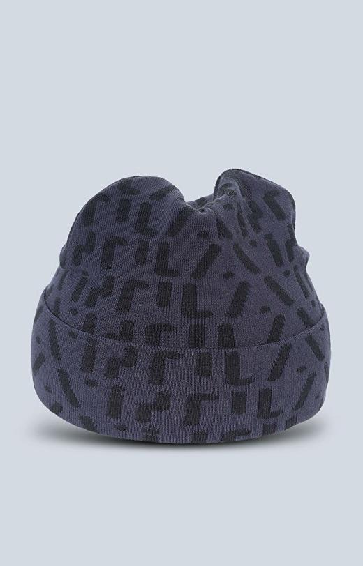 Dzianinowa czapka z logo