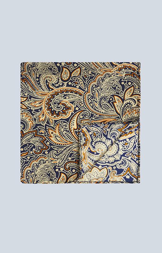 Jedwabna poszetka we wzór paisley