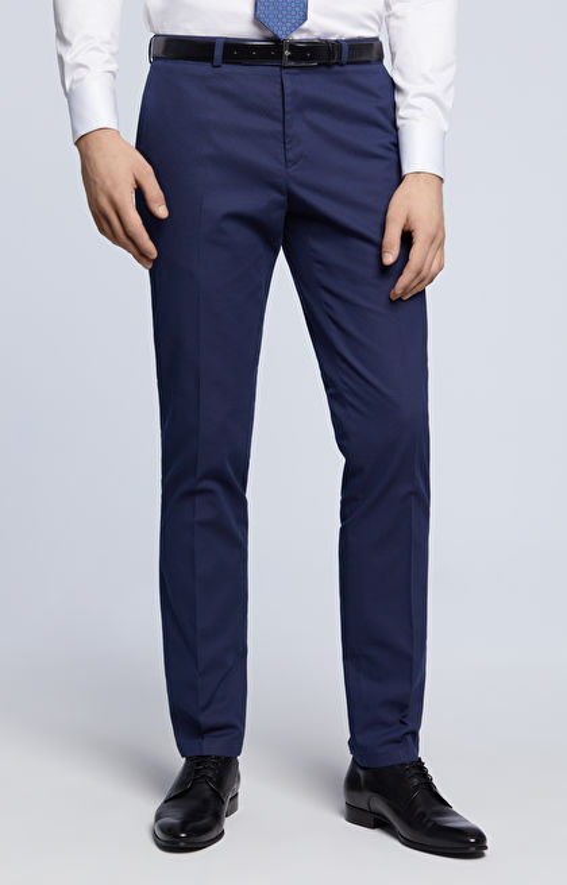 Spodnie w drobny wzór