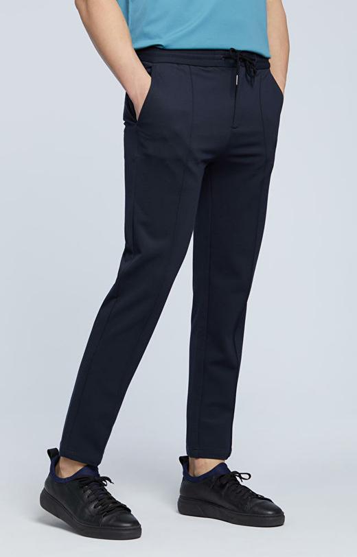 Spodnie ze szwem na przodzie