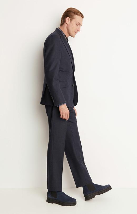 Wełniany garnitur 3-częściowy
