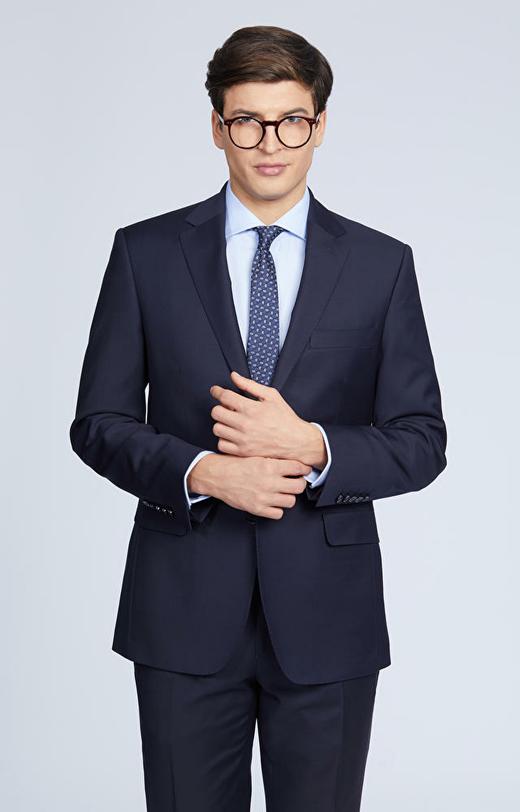 Wełniany garnitur