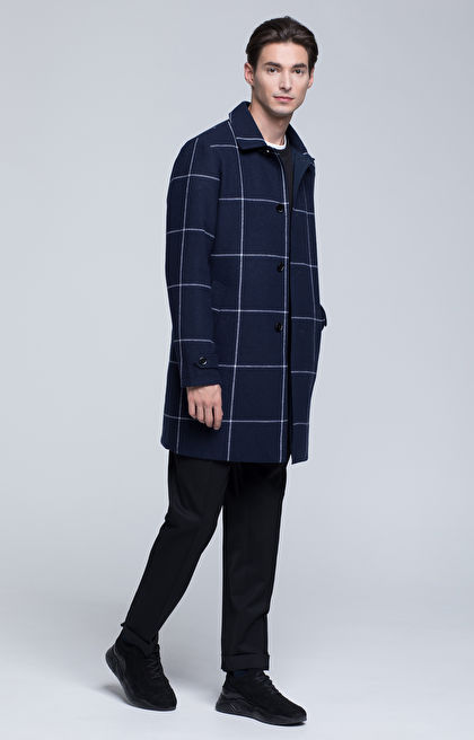 Lekki, dwustronny płaszcz