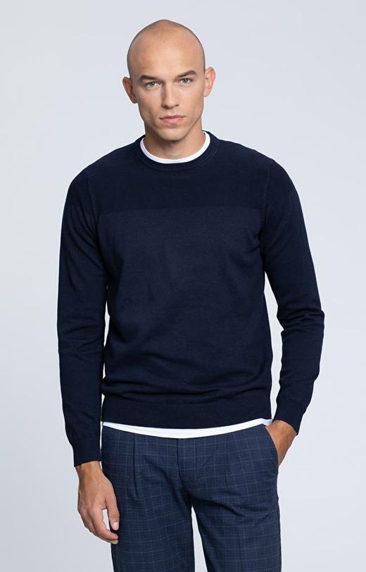 Lekki, bawełniany sweter