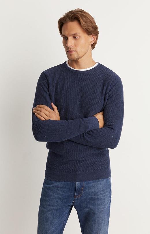 Sweter typu round neck