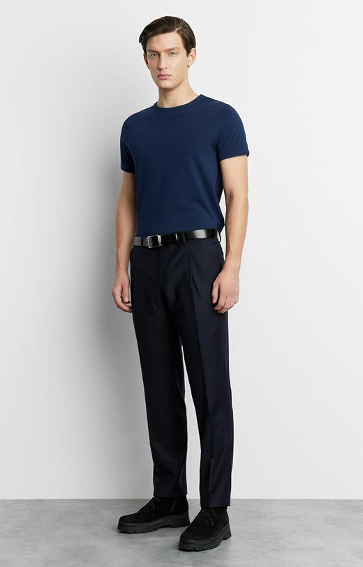 T-shirt basic dopasowany