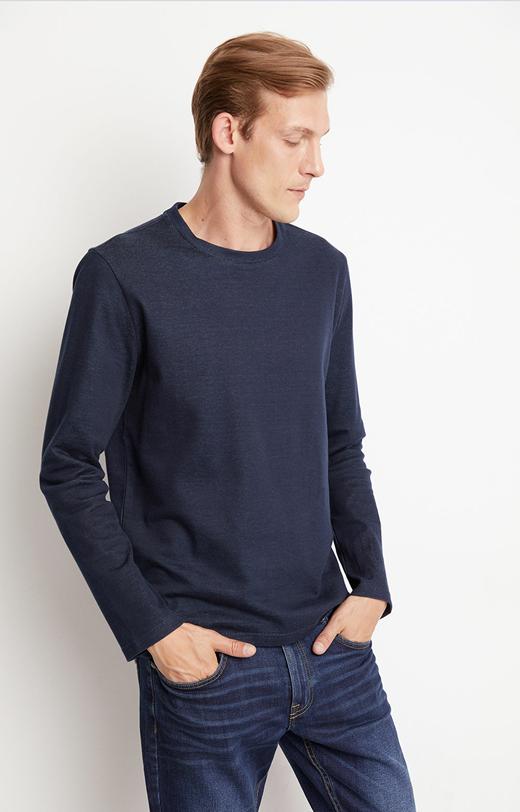 Cieńka bluza z bawełny pima