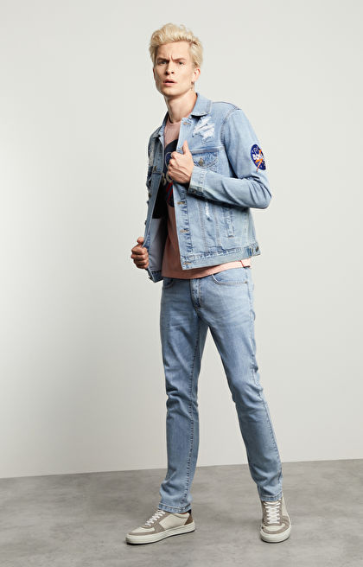 Kurtka jeansowa David Bowie