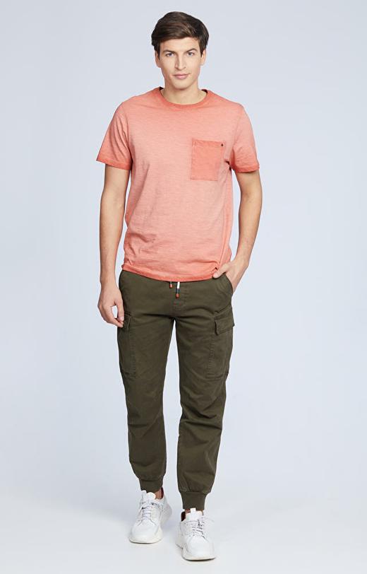 T-shirt z kieszonką