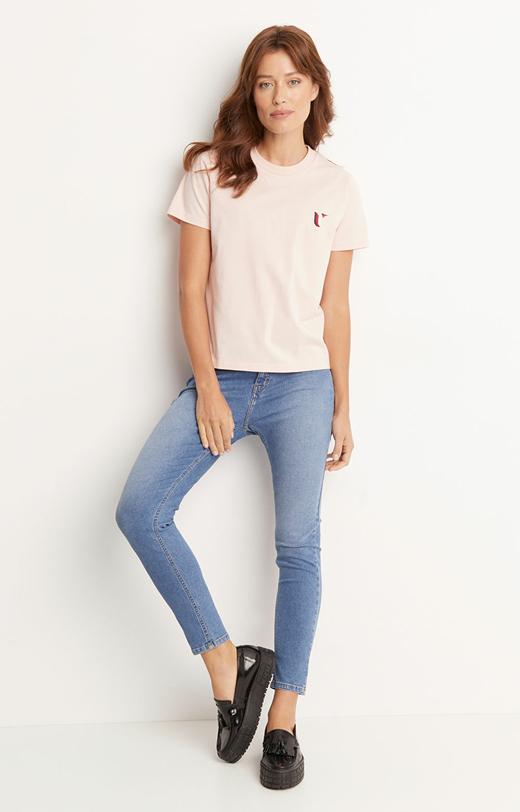 T-shirt typu round-neck