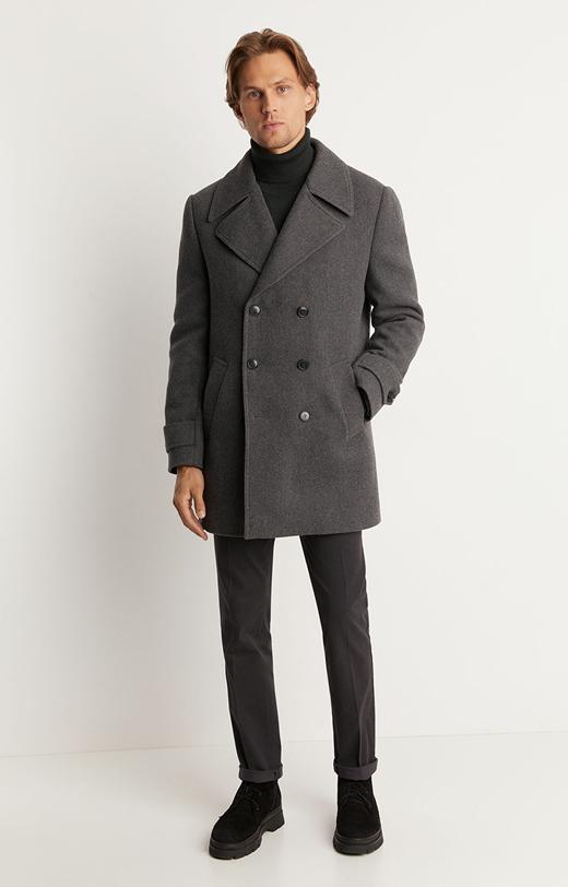 Dwurzędowa kurtka typu Oxford