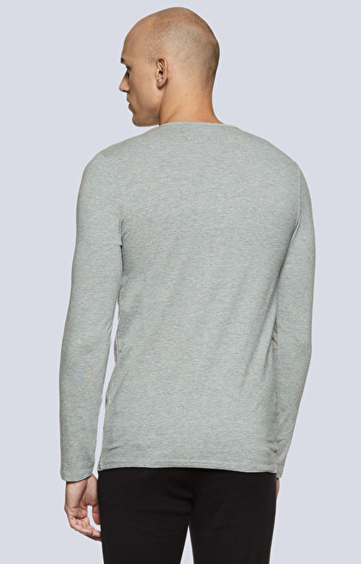 T-shirt typu round-neck z logo
