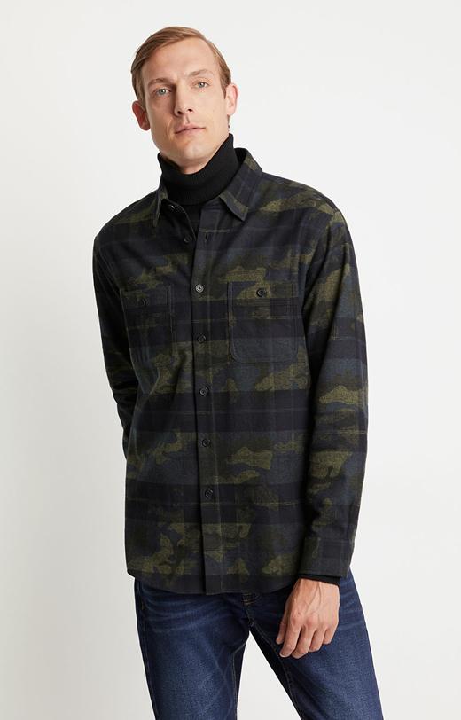 Flanelowa koszula